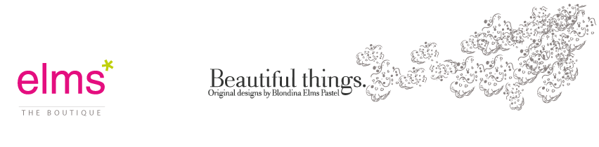 elms* THE BOUTIQUE - Chic lifestyle brand by artist, and designer Blondina Elms Pastel