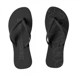 Bambolera-Musta-Flip-Flops designed by Blondina Elms Pastel, elms The Boutique