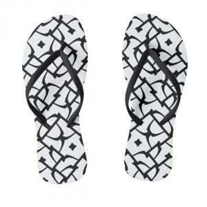 Sokkelo-Flip-Flops designed by Blondina Elms Pastel, elms The Boutique
