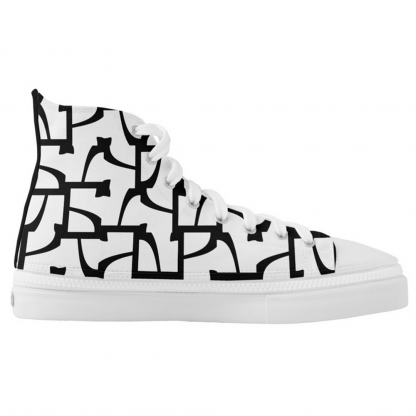Sokkelo-High-fashion sneakers designed by Blondina Elms Pastel, elms The Boutique