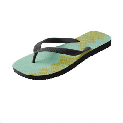 Upoksissa-Flip-Flops designed by Blondina Elms Pastel, elms The Boutique