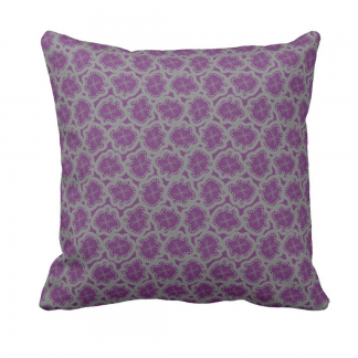 Ameeba-Laventeli-Throw-Pillow designed by Blondina Elms Pastel, elms The Boutique