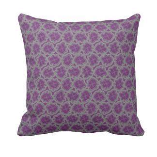 Ameeba-Laventeli-Throw-Pillow designed by Blondina Elms Pastel, elms The Boutique