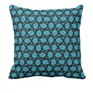 Ameeba-Lumbar-Throw-Pillow designed by Blondina Elms Pastel, elms The Boutique