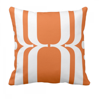 Karamelli-Throw-Pillow designed by Blondina Elms Pastel, elms The Boutique