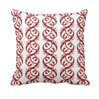 Poreilla-Throw-Pillow designed by Blondina Elms Pastel, elms The Boutique