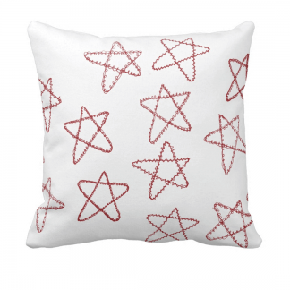Tahtea-Kaapeli-Throw-Pillow designed by Blondina Elms Pastel, elms The Boutique
