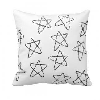 Tahtea Throw-Pillow designed by Blondina Elms Pastel, elms The Boutique
