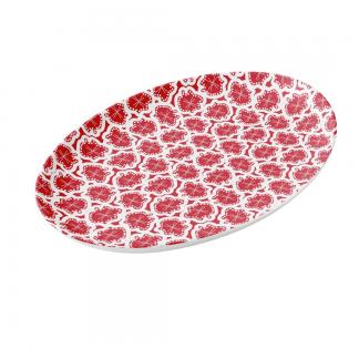ameeba-rubiini-procelain-plate designed by Blondina Elms Pastel, elms The Boutique