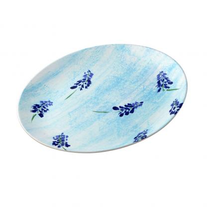 teralehti-procelain-plate designed by Blondina Elms Pastel, elms The Boutique