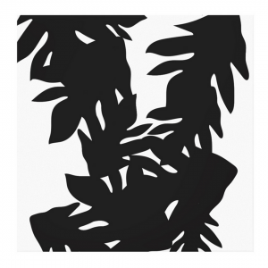 Leipapuun-Hedelma-Musta-Canvas-Print-Front
