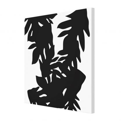 Leipapuun-Hedelma-Musta-canvas-print designed by Blondina Elms Pastel, elms The Boutique