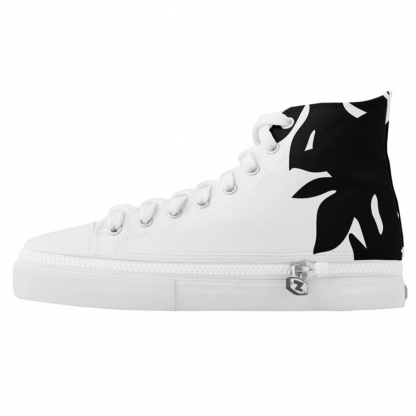 Leipapuun-Hedelma-Musta-High-Sneakers designed by Blondina Elms Pastel, elms The Boutique