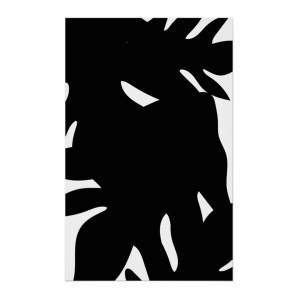 Musta-Leipapuun-Hedelma-Canvas-Print