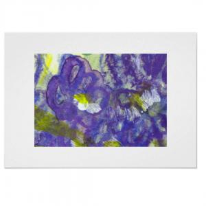 Violetti-usva-hand-painted-canvas-print