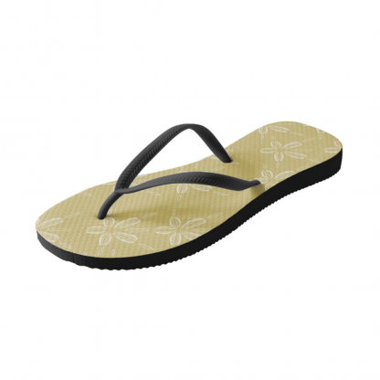 Hiekka-dollari-kultainen-flipflops designed by Blondina Elms Pastel, elms The Boutique