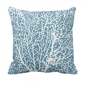 Tuuletin__upoksissa_throw_pillow designed by Blondina Elms Pastel, elms The Boutique