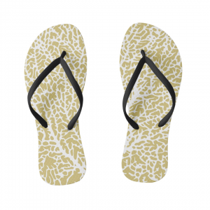 Tuuletin_kultainen-flipflops designed by Blondina Elms Pastel, elms The Boutique