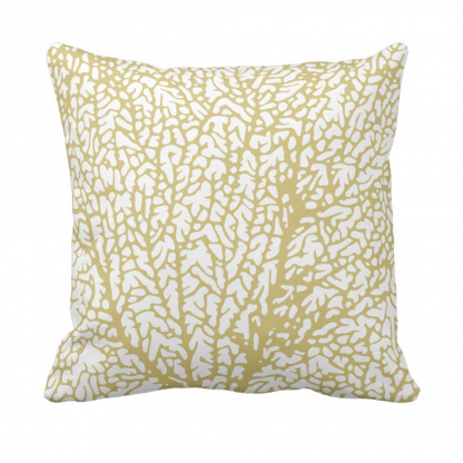 Tuuletin_kultainen_throw_pillow designed by Blondina Elms Pastel, elms The Boutique
