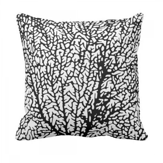 Tuuletin_musta_throw_pillow designed by Blondina Elms Pastel, elms The Boutique