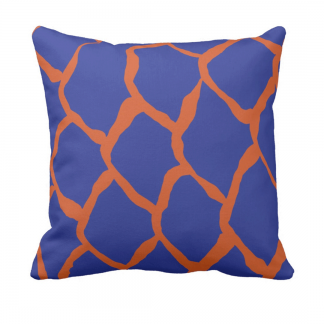 kalan-suomut-koralli syvanmeren throw_pillow designed by Blondina Elms Pastel, elms The Boutique