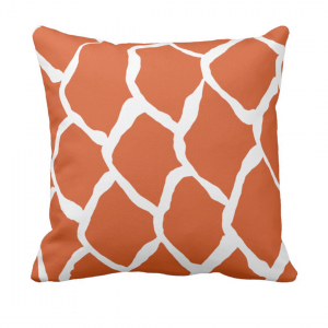 kalan-suomut--koralli_throw_pillow designed by Blondina Elms Pastel, elms The Boutique