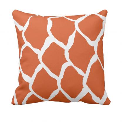 kalan-suomut--koralli_throw_pillow designed by Blondina Elms Pastel, elms The Boutique