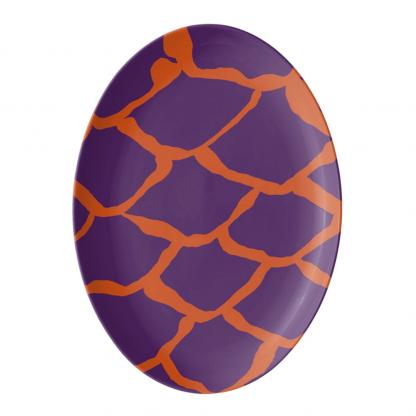 kalan-suomut-koralli-violetti-platter-porcelain tableware designed by Blondina Elms Pastel, elms The Boutique