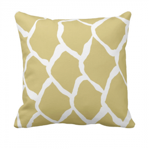 kalan-suomut--kultainen- throw_pillow designed by Blondina Elms Pastel, elms The Boutique