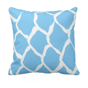 kalan-suomut--lampi throw_pillow designed by Blondina Elms Pastel, elms The Boutique