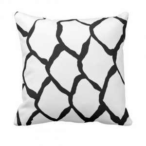 kalan-suomut--valkoinen throw_pillow designed by Blondina Elms Pastel, elms The Boutique