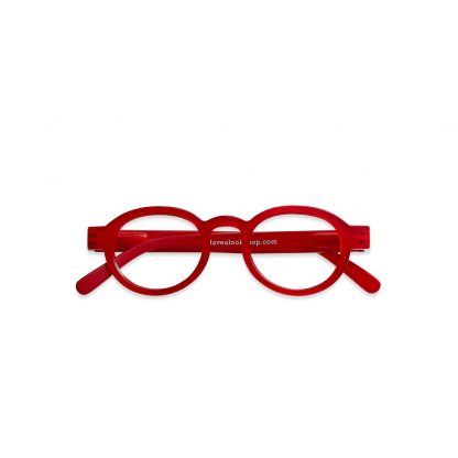 have-a-look-Reading_glasses_Circle_Twist_red_front